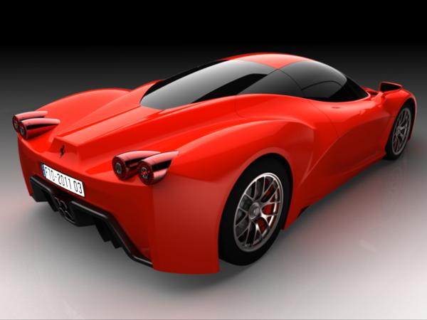 Future Ferrari F70 : Constantin-Gabriel Radu en est l'auteur, pas Ferrari