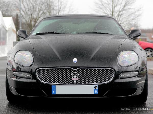 Photos du jour : Maserati Grandsport (Cars & Coffee Paris)