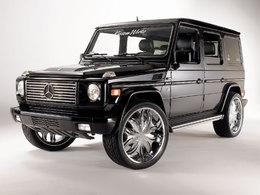Mercedes classe G : bling-bling style !