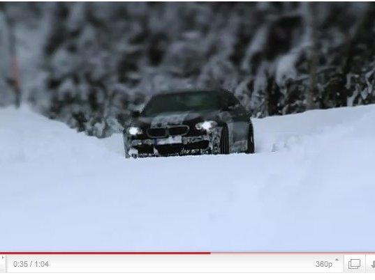 Première séance : la future BMW M5 s'expose en vidéo