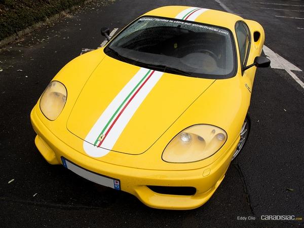 Photos du jour : Ferrari 360 Challenge Stradale (Cars&CoffeeParis)