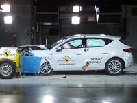 Crash-test Euro NCAP: la Seat Leon brille, la Hyundai i10 n'a que 3 étoiles