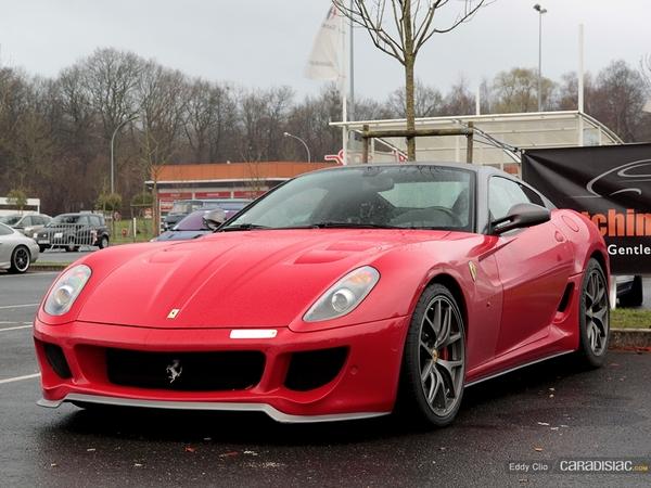 Photos du jour : Ferrari 599 GTB Fiorano HGTE (Cars&CoffeeParis)