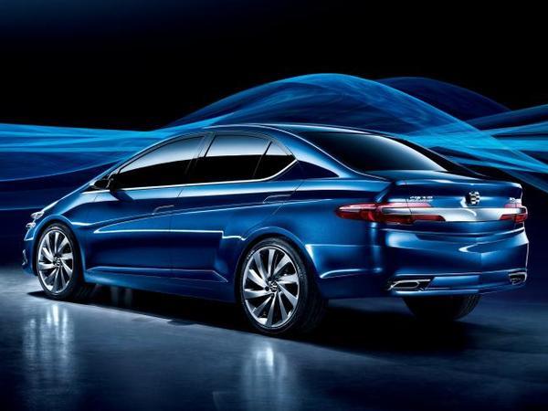 Pékin 2010 : Honda Li Nian Everus concept, bleu de chine