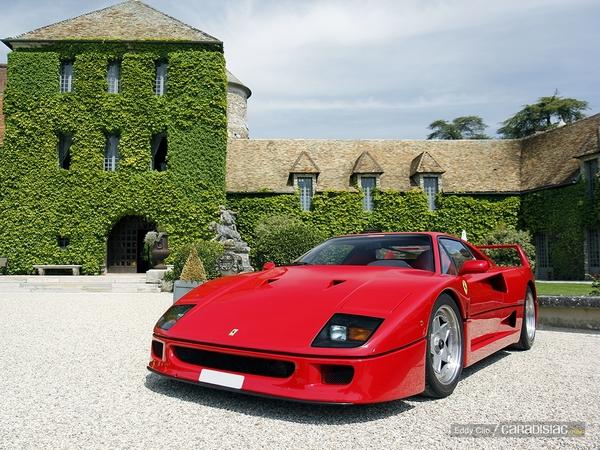 Photos du jour : Ferrari F40 (KBRossocorsaday)