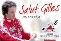 Hommage à Gilles Villeneuve
