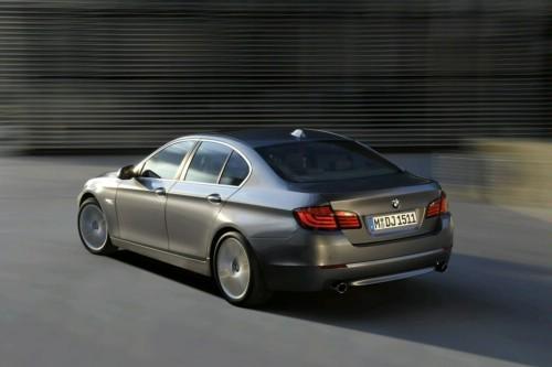 Genève : BMW amènera sa Serie 5 ActiveHybrid