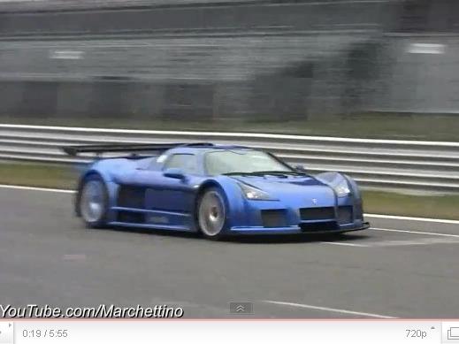 A 270 km/h à Monza en Gumpert Apollo de 800 ch