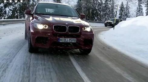 [Vidéo] les BMW X5 M et X6 M sur la neige : ça glisse