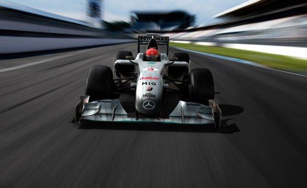 F1 : Mercedes GP Petronas hisse ses couleurs 2010
