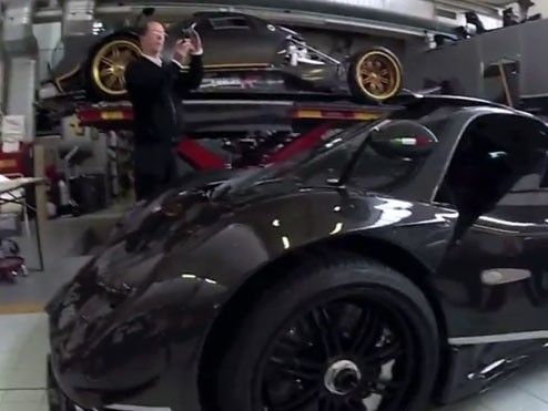 "(Vidéo) Pagani Zonda 760 RS: ""1 sur 1"""