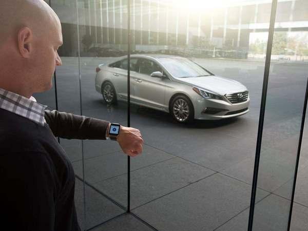 Hyundai présente son application dédiée aux montres connectées Android