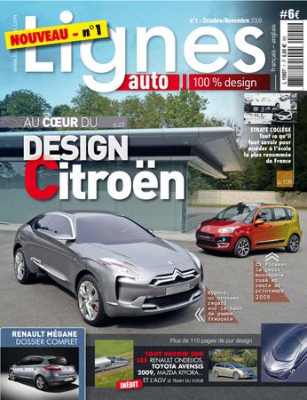 Design : LIGNESauto est dans les bacs