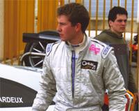Lazardeux sur une Ford GT du Team Matech