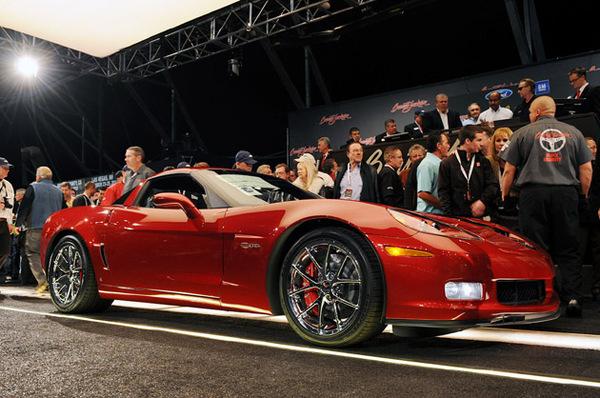 Vente aux enchères Barret-Jackson : 200 000 dollars pour la Corvette Z06 au profit des sinistrés d'Haïti