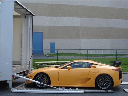 La toute première Lexus LFA pack Nürburgring débarque en Europe
