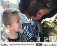 """Vidéo moto : Kyle Loza et son """"the volt"""""""