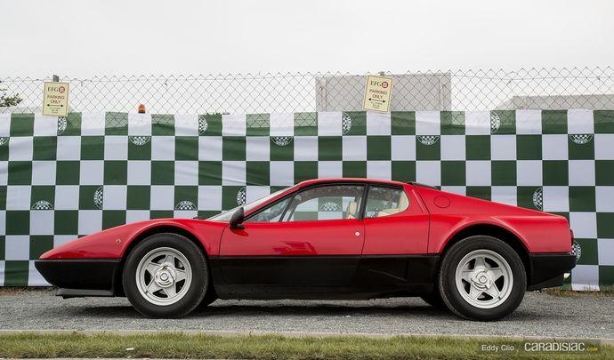 Photos du jour : Ferrari BB512i (Le Mans Classic)
