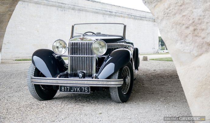 Photos du jour : Hispano-Suiza Type K6 J12 Roadster Saoutchik de 1933 (Concours d'Elegance de Chantilly)