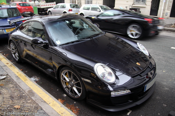 Photos du jour : Porsche 997 GT3 phase 2