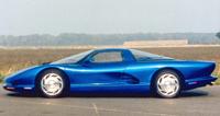Une Corvette à moteur central au SEMA show