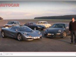 [vidéo] : le top 5 des 5000 essais d'Autocar