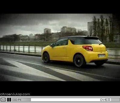 [vidéo] Citroën DS3, la bien urbaine