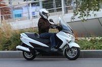 Essai Suzuki Burgman 125 ABS 2014 : une longue et belle carrière