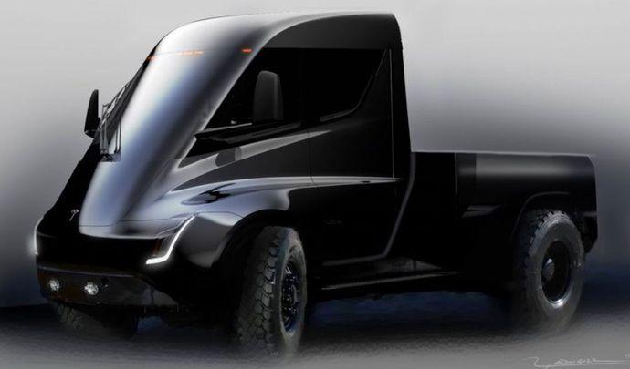 Après le camion et le crossover, Tesla confirme l'arrivée d'un pick-up