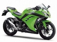 Kawasaki: campagne de rappel sur les Ninja 300 et Ninja 300 ABS millésime 2013