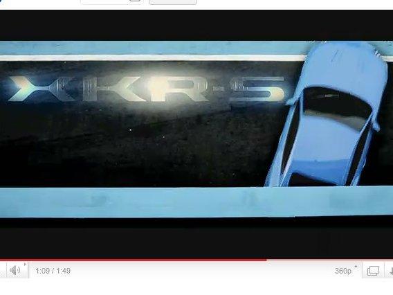 [vidéo] la Jaguar XKR-S est une mauvaise fille