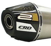 """CRD: nouveau pot """"Sport Design"""" pour scooter."""