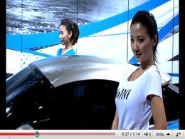 [vidéos] Pékin 2010 en vidéos (girls & cars)
