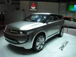 En direct du Salon de Genève 2010 : le nouveau Concept hybride Mitsubishi PX-MiEV