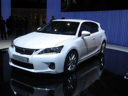 En direct du Salon de Genève 2010 : la Lexus CT 200h