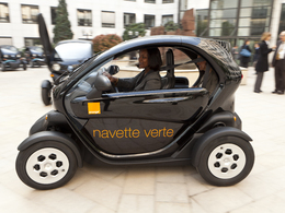 Orange choisit la Renault Twizy