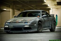 Nissan 200 SX à la sauce Mad Max