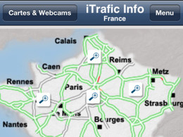 Application iTrafic : le traffic en temps réel sur votre iPhone