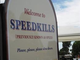 Australie : la ville de Speed devient Speedkills le temps d'une campagne de prévention