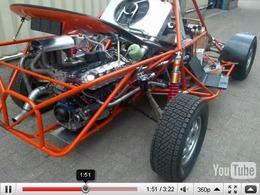 Kronenburg Autosport : un buggy avec un moteur d'Audi TT-RS de 720ch