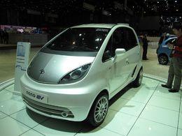 En direct du Salon de Genève : les Nano et Indica Vista électriques de Tata Motors