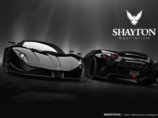 Shayton Equilibrium: supercar pour le moment encore virtuelle