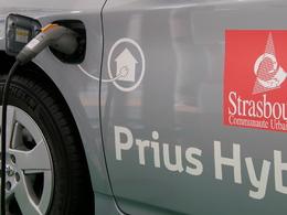 EDF et TOYOTA lancent l'hybride rechargeable à Strasbourg