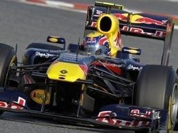 Barcelone : Webber en tête à la mi-journée