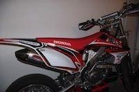 Vol Honda CRF450 R Caradisiac Moto: appel à témoins