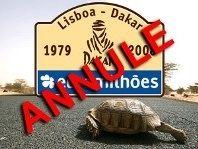 Dakar : publication officielle de l'annulation