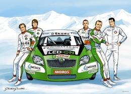 Skoda France annonce son 5ème pilote et se félicite de ses ventes 2009
