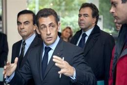 Sarkozy au Mondial de Paris : un grand plan pour les voitures propres