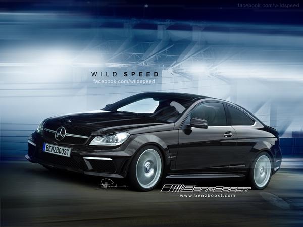 Mercedes Classe C AMG coupé : déjà des infos