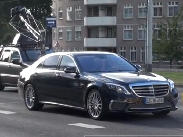 Surprise en vidéo : la Mercedes S65 AMG en shooting